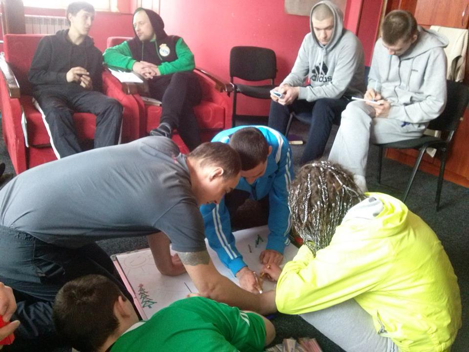 арт-терапия и лечение наркомании в Харькове в Крок в нове життя
