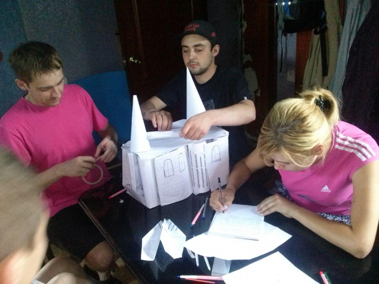Лечение наркомании: отзыв в Харькове в крок в нове життя